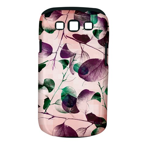 Spiral Eucalyptus Leaves Samsung Galaxy S III Classic Hardshell Case (PC+Silicone)