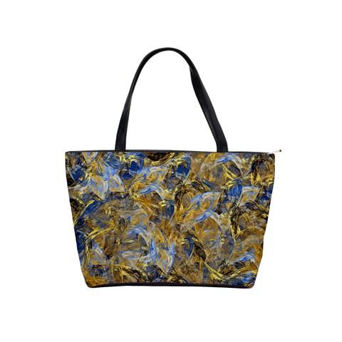 Antique Anciently Gold Blue Vintage Design Shoulder Handbags