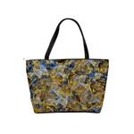Antique Anciently Gold Blue Vintage Design Shoulder Handbags Back