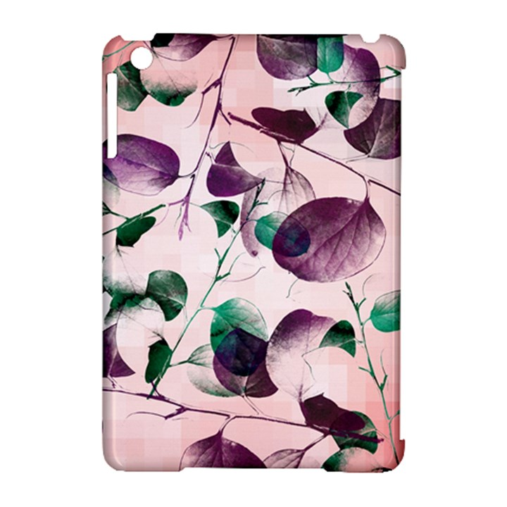 Spiral Eucalyptus Leaves Apple iPad Mini Hardshell Case (Compatible with Smart Cover)