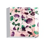 Spiral Eucalyptus Leaves 4 x 4  Acrylic Photo Blocks Front