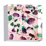 Spiral Eucalyptus Leaves 5  x 5  Acrylic Photo Blocks Front