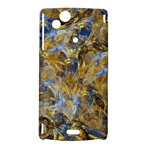 Antique Anciently Gold Blue Vintage Design Sony Xperia Arc