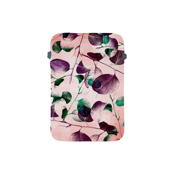 Spiral Eucalyptus Leaves Apple iPad Mini Protective Soft Cases