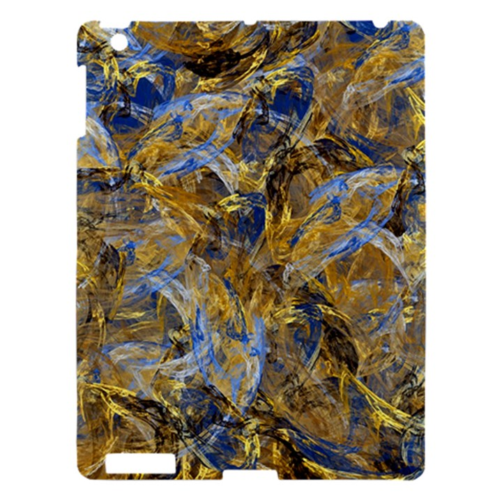 Antique Anciently Gold Blue Vintage Design Apple iPad 3/4 Hardshell Case