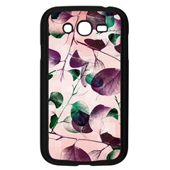 Spiral Eucalyptus Leaves Samsung Galaxy Grand DUOS I9082 Case (Black)