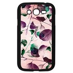 Spiral Eucalyptus Leaves Samsung Galaxy Grand DUOS I9082 Case (Black) Front