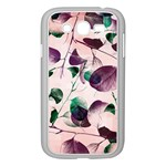 Spiral Eucalyptus Leaves Samsung Galaxy Grand DUOS I9082 Case (White) Front