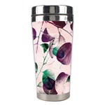 Spiral Eucalyptus Leaves Stainless Steel Travel Tumblers Center