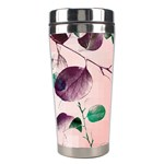 Spiral Eucalyptus Leaves Stainless Steel Travel Tumblers Right