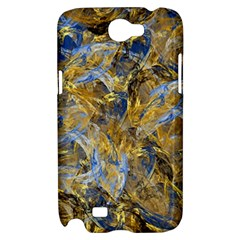 Antique Anciently Gold Blue Vintage Design Samsung Galaxy Note 2 Hardshell Case