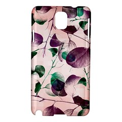 Spiral Eucalyptus Leaves Samsung Galaxy Note 3 N9005 Hardshell Case