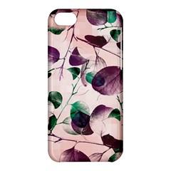 Spiral Eucalyptus Leaves Apple Iphone 5c Hardshell Case