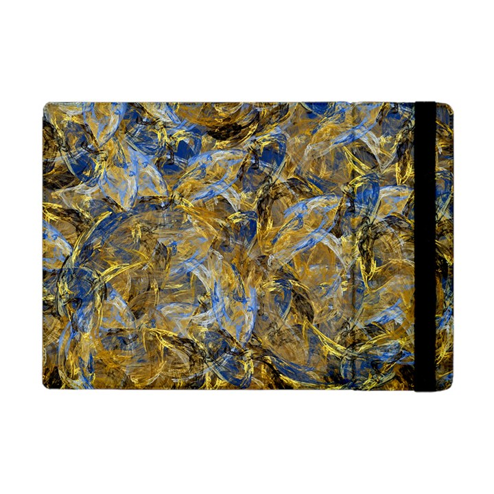 Antique Anciently Gold Blue Vintage Design Apple iPad Mini Flip Case
