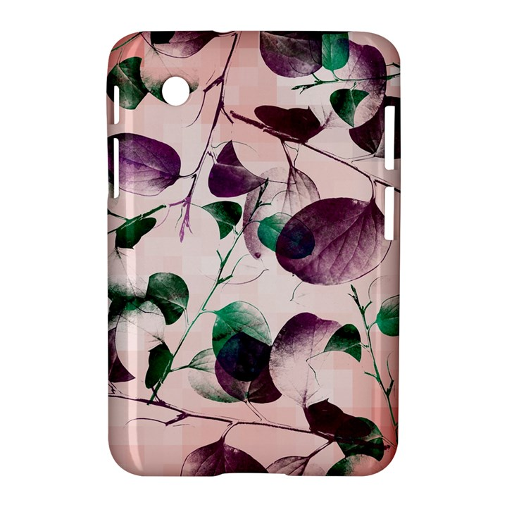 Spiral Eucalyptus Leaves Samsung Galaxy Tab 2 (7 ) P3100 Hardshell Case