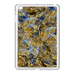 Antique Anciently Gold Blue Vintage Design Apple iPad Mini Case (White) Front