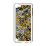 Antique Anciently Gold Blue Vintage Design Apple iPod Touch 5 Case (White) Front