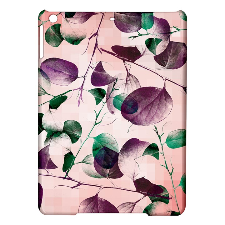 Spiral Eucalyptus Leaves iPad Air Hardshell Cases