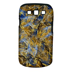 Antique Anciently Gold Blue Vintage Design Samsung Galaxy S III Classic Hardshell Case (PC+Silicone)