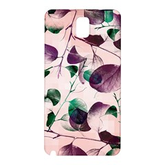Spiral Eucalyptus Leaves Samsung Galaxy Note 3 N9005 Hardshell Back Case