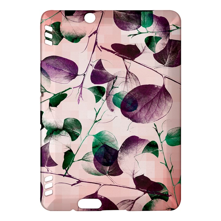Spiral Eucalyptus Leaves Kindle Fire HDX Hardshell Case