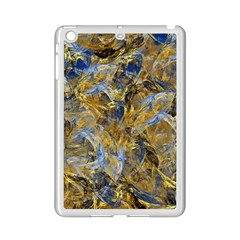 Antique Anciently Gold Blue Vintage Design Ipad Mini 2 Enamel Coated Cases