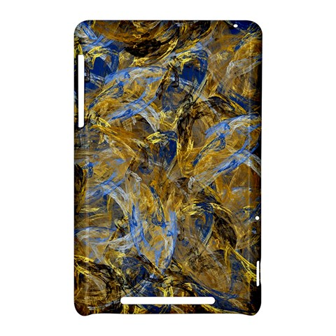 Antique Anciently Gold Blue Vintage Design Nexus 7 (2012)