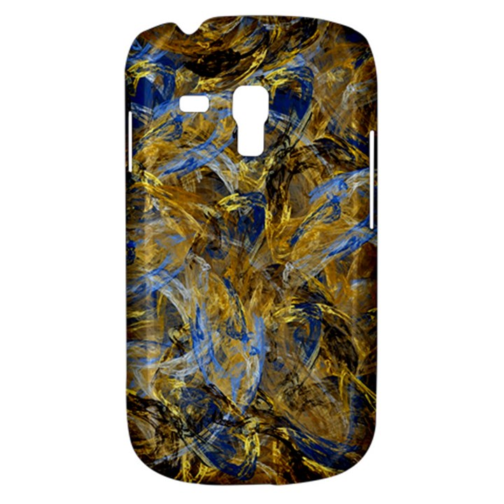 Antique Anciently Gold Blue Vintage Design Samsung Galaxy S3 MINI I8190 Hardshell Case