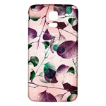 Spiral Eucalyptus Leaves Samsung Galaxy S5 Back Case (White) Front