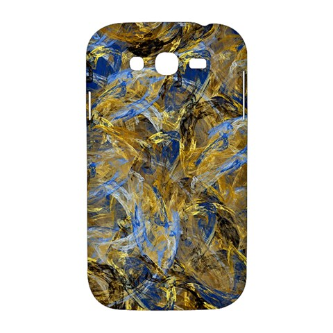 Antique Anciently Gold Blue Vintage Design Samsung Galaxy Grand DUOS I9082 Hardshell Case