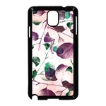 Spiral Eucalyptus Leaves Samsung Galaxy Note 3 Neo Hardshell Case (Black) Front
