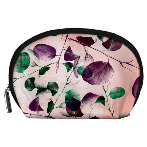 Spiral Eucalyptus Leaves Accessory Pouches (Large)