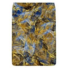 Antique Anciently Gold Blue Vintage Design Flap Covers (s)