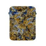 Antique Anciently Gold Blue Vintage Design Apple iPad 2/3/4 Protective Soft Cases Front