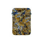 Antique Anciently Gold Blue Vintage Design Apple iPad Mini Protective Soft Cases Front