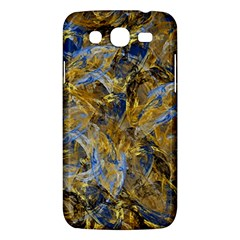 Antique Anciently Gold Blue Vintage Design Samsung Galaxy Mega 5.8 I9152 Hardshell Case