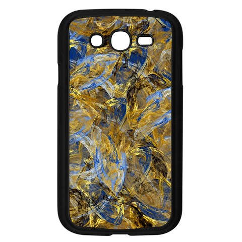 Antique Anciently Gold Blue Vintage Design Samsung Galaxy Grand DUOS I9082 Case (Black)