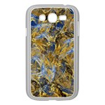Antique Anciently Gold Blue Vintage Design Samsung Galaxy Grand DUOS I9082 Case (White) Front