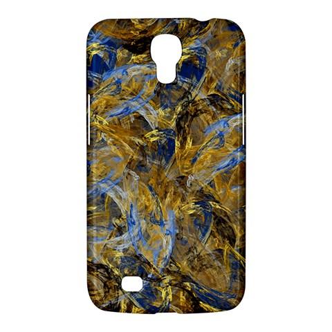 Antique Anciently Gold Blue Vintage Design Samsung Galaxy Mega 6.3  I9200 Hardshell Case
