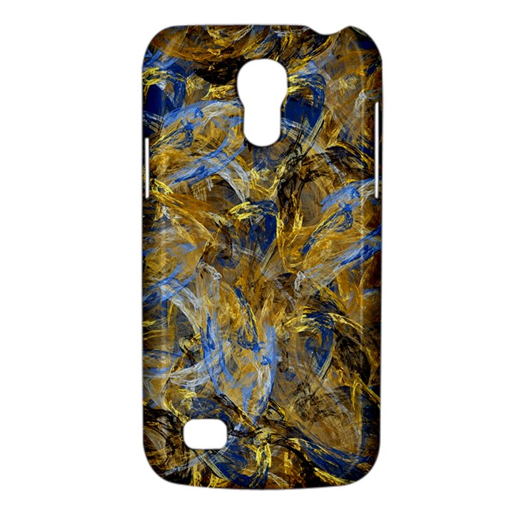 Antique Anciently Gold Blue Vintage Design Galaxy S4 Mini