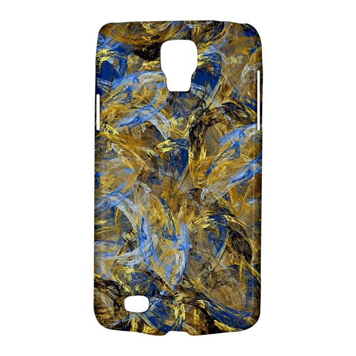 Antique Anciently Gold Blue Vintage Design Galaxy S4 Active