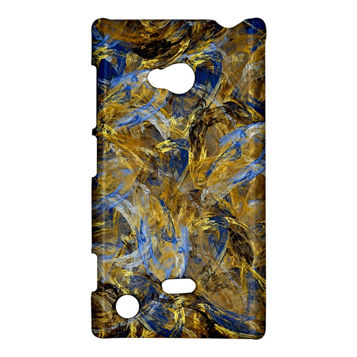 Antique Anciently Gold Blue Vintage Design Nokia Lumia 720