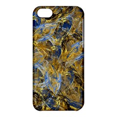 Antique Anciently Gold Blue Vintage Design Apple Iphone 5c Hardshell Case