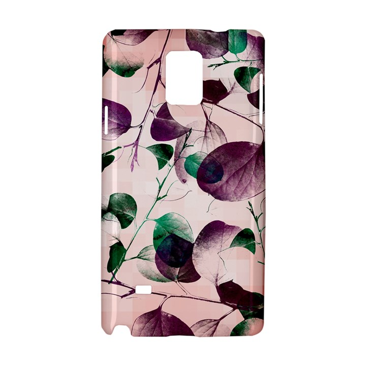 Spiral Eucalyptus Leaves Samsung Galaxy Note 4 Hardshell Case