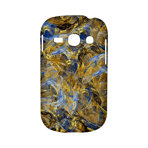 Antique Anciently Gold Blue Vintage Design Samsung Galaxy S6810 Hardshell Case
