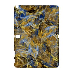 Antique Anciently Gold Blue Vintage Design Samsung Galaxy Note 10 1 (p600) Hardshell Case