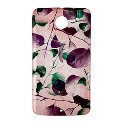 Spiral Eucalyptus Leaves Nexus 6 Case (White)