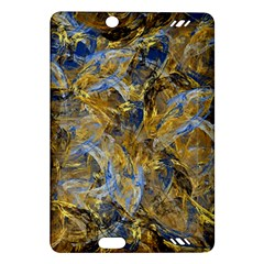 Antique Anciently Gold Blue Vintage Design Amazon Kindle Fire Hd (2013) Hardshell Case