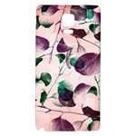 Spiral Eucalyptus Leaves Galaxy Note 4 Back Case Front