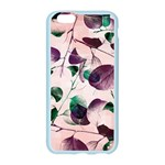 Spiral Eucalyptus Leaves Apple Seamless iPhone 6/6S Case (Color) Front